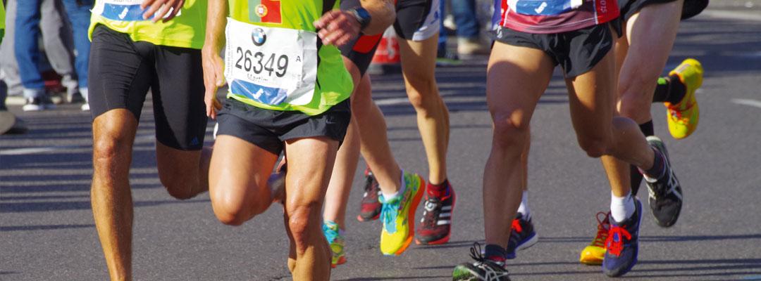 Hochwertige Textilveredelung für Mode, Werbung und Sport hier der Berlin Marathon