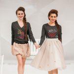 Textilveredelung für Fashion & Funktionskleidung hier bestickte Damenpullover