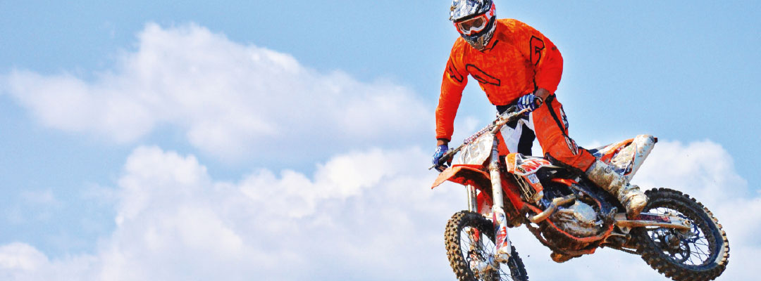 Textilveredelung für Automotive & Motorsport hier ein Motorrad Showevent