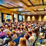 Textilveredelung für Events hier ein Fachkonferenz und Tagung