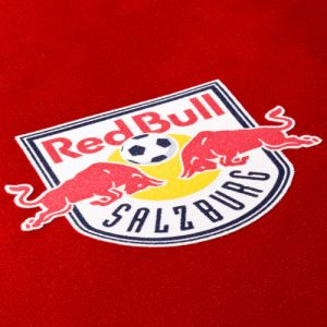 Red Bull Salzburg as flock transfer with unique haptics from monochrome to multicoloured